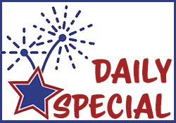Star Spangled Batter Daily Special